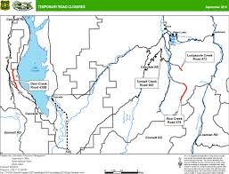 Map Of Boise Idaho Boise National Forest News U0026 Events