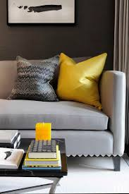 grey and yellow living room yellow livingom and gray rugs sofa gold paint color blue curtains