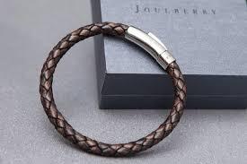 men braided leather bracelet images Men 39 s personalised leather bracelets handmade in london uk jpg