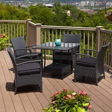 Best Outdoor Wicker Patio Furniture by Outdoor U0026 Garden Belladonna Black Resin Wicker Patio Furniture