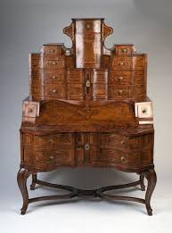 german tyrolean rococo writing desk circa 1750 for sale at 1stdibs