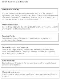 small business strategy templates new business plan templates