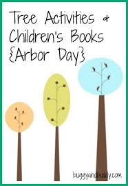 children s books about trees tree activities buggy and buddy