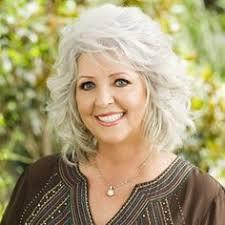 is paula deens hairstyle for thin hair the silver fox stunning gray hair styles paula deen gray hair