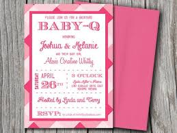diy baby shower invitations template
