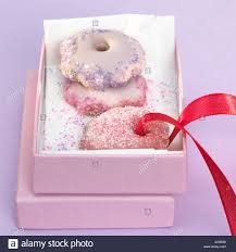 christmas cookies in gift box stock photo royalty free image