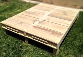 Crate Bed Frame Wood Pallet Furniture Ideas Diy Pallet Projects 101 Pallets