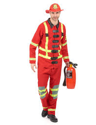 Fireman Costume Fireman Costume For Men Vegaoo