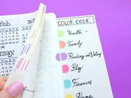 Best Color Codes by How To Colour Code Your Bullet Journal