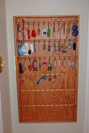 16 best keychain collection organization ideas images on pinterest key chain collection display case made for my daughter the rods are removable so