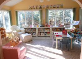 tour our homeschooling room looking straight in from the dining room