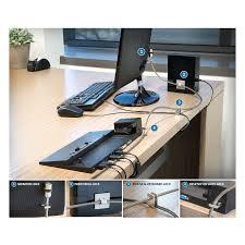 Computer Desk Lock by Kensington Desktop Pc U0026 Peripherals Lock Kit 64615 Laptop