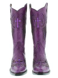 womens boots purple s cowboy boots purple leather sequins