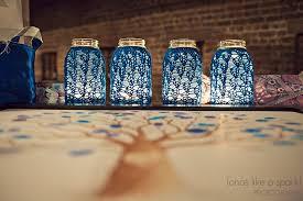 Blue Wedding Centerpieces by Brides Love Mason Jar Wedding Reception Decor Centerpieces Blue