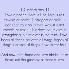 1 corinthians 13 wedding live and be married favorite wedding readings