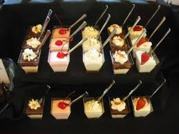 mini dessert cups specialty desserts pinterest dessert cups