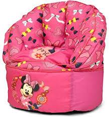 amazon com disney toddler minnie mouse bean bag chair toys u0026 games