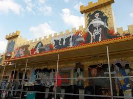world of fun halloween haunt dark ride into the cheap thrill trailer rig haunted houses of the