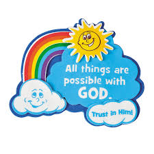 all things are possible with god u201d magnet craft kit craft kits