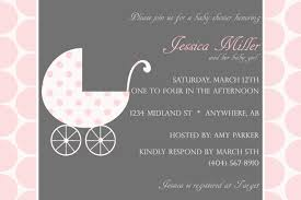 Baby Shower Invitation Cards Pink And Gray Baby Shower Invitations Theruntime Com