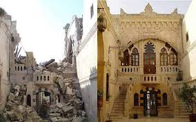 syria before and after before and after images show how syrian civil war destroyed its
