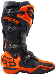fox boots motocross fox pants mtb fox instinct 15 boots motocross black orange fox