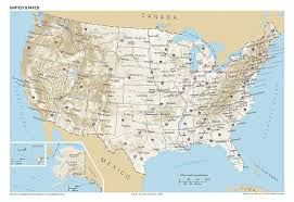 United States Map With States And Capitals Labeled by Amazon Com 13x19 Anchor Maps United States General Reference