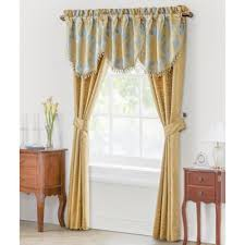 Gold And Blue Curtains Buy Blue Gold Curtains From Bed Bath U0026 Beyond