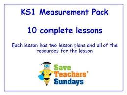 ks1 measurements lessons bundle pack 10 lessons by