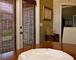 decorating simple interior windows decor ideas with faux wood
