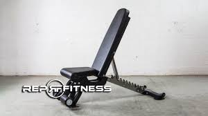 best fitness fid bench rep fitness adjustable bench youtube