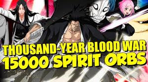 tybw step up summons going in 15000 spirit orbs bleach brave
