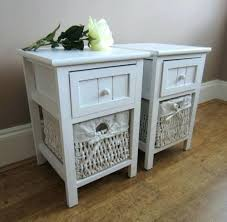 side table rattan bedside furniture wicker bedroom furniture uk