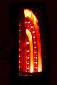 fiber optic tail lights 07 13 chevy suburban tahoe gmc yukon fiber optic led tail lights