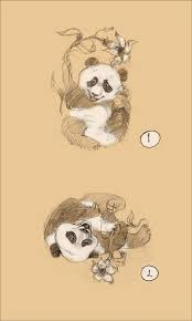 cute panda tattoo picture real photo pictures images and