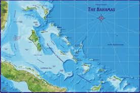 bahamas on map bahamas wall map by franko s maps from maps com