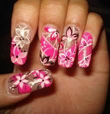 simple flower nail art videos sbbb info
