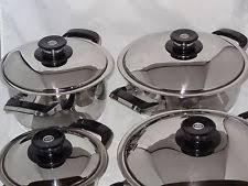 batterie de cuisine amc casseroles poêles in matériau acier ebay
