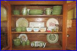 rustic glass kitchen cabinets antique solid wood arch glass door display step back kitchen