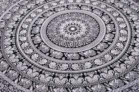 indian elephant mandala tapestry hippie tapestries tapestry wall