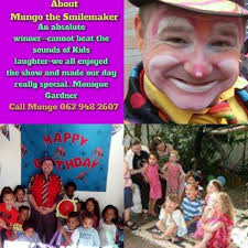 clown show for birthday party kids magic clown for birthday mungo s variety show