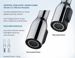 pullout kitchen faucet filter single handle centerset kitchen