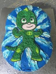 pj masks gecko cake cake decorating ideas