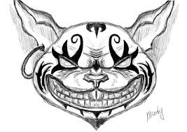 this is my sketch of the alice mcgee u0027s cheshire cat hope you like