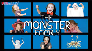 the monster family song finger family song nursery rhymes