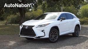 2016 lexus rx crossover review video 2016 lexus rx f sport review autonation drive automotive blog