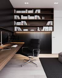 a calm and simple family home with neat features officespace