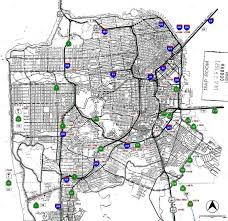 San Francisco Transportation Map by California Highways Www Cahighways Org San Francisco Bay Area
