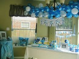 interior design simple boy themed baby shower decorations design