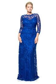illusion lace sleeve gown plus size tadashi shoji mob